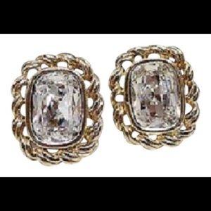 Vintage Swarovski earrings